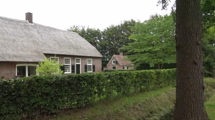 'Het Grote Slot' aan de Kerkhovensestraat in Oisterwijk