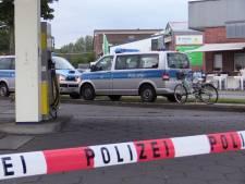 Plofkraak in tankstation vlak over de grens bij Winterswijk, daders in Audi op de vlucht