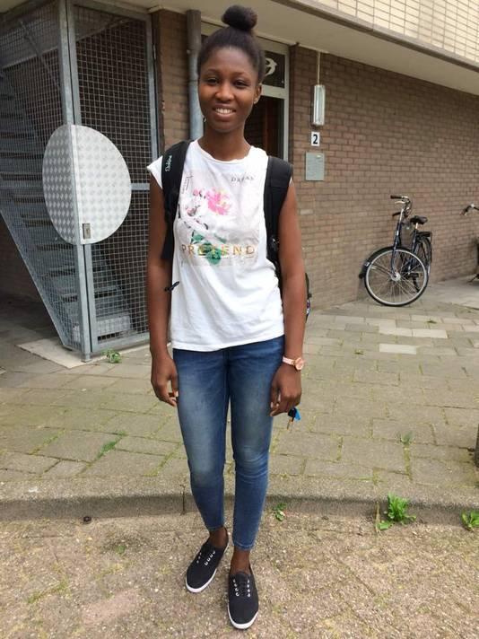 Esther Ewaoluwagbemiga uit Nigeria