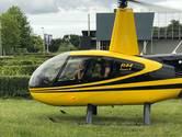 Vader brengt dochter (15) met helikopter naar eindgala