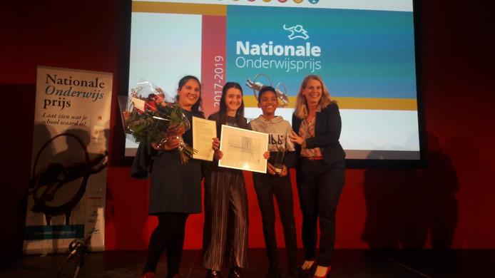 609293596d1 De Trekvogel wint eerste onderwijsprijs van Utrecht in het basisonderwijs.