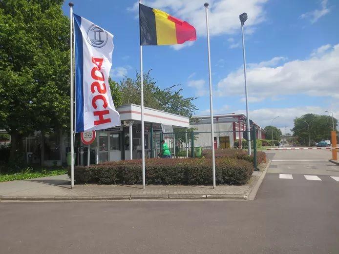 L'usine Bosch à Tirlemont.