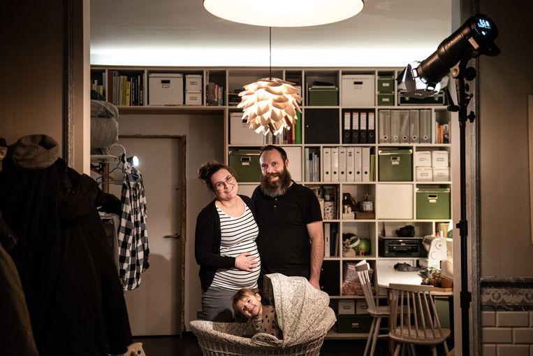 Jonas Vereecke en zijn vrouw Sien. Beeld wouter maeckelberghe