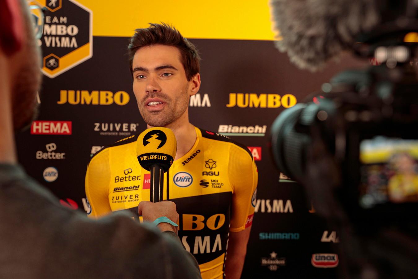 Tom Dumoulin n'a pas encore disputé la moindre course sous les couleurs de Jumbo-Visma.