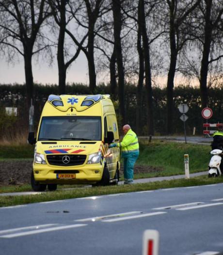 Scooterrijder gewond bij ongeval in Lewedorp