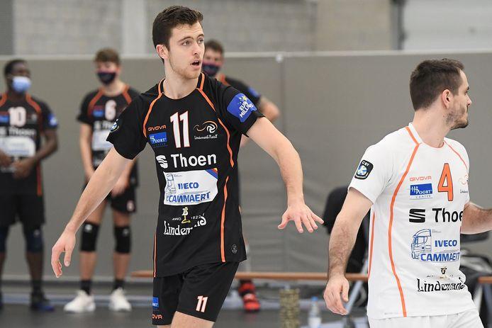 """Seppe Van Hoyweghen (11)  blijft positief: """"De top vier is nog mogelijk en we zitten nog in de beker. Alles kan dus nog."""""""