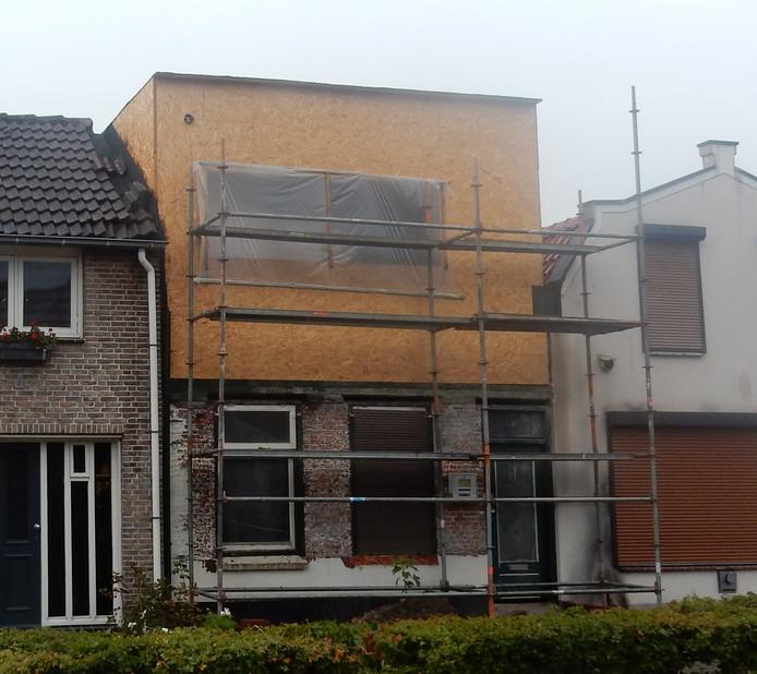 Het huis aan de Nieuwendijk in Axel.