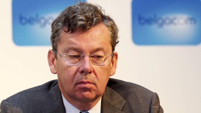 Didier Bellens, baas van Belgacom.