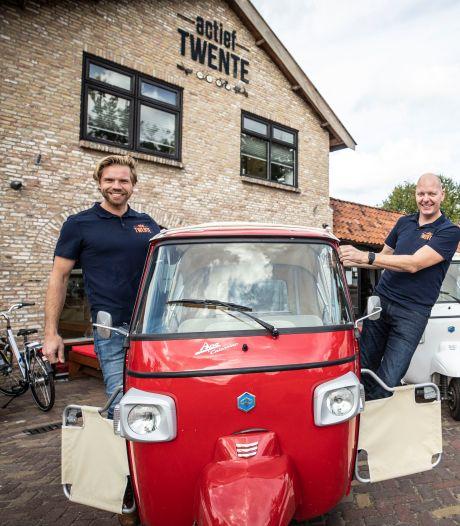 Solex-jongens met 'cv-gat' runnen nu miljoenenbedrijf: 'Wij verhuren de streek Twente'