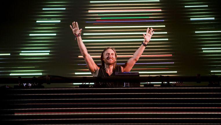 David Guetta, één van de acts op Amsterdam Music Festival. Beeld epa