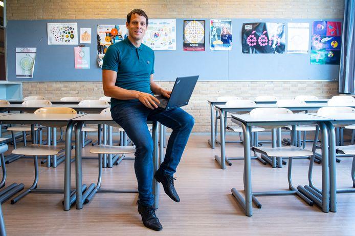 Marten Postma, nieuwe docent op het Corderius College.