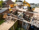 Sloopbedrijf in Helmond gaat tekeer: tuin verandert in ravage