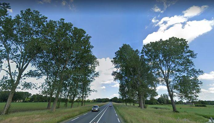 De N35 loopt nu nog dwars door het mooie landschap, maar dreigt door de komst van het zonnepark de 'achterkant' van het dorp te worden.