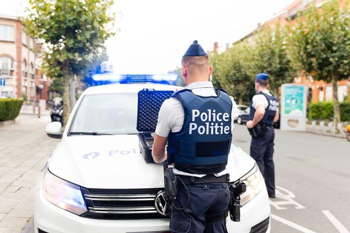 Illustratiebeeld politie Brussel-Noord.