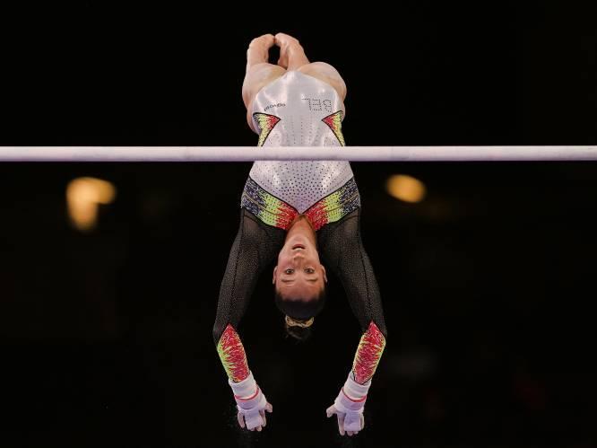 """Duim omhoog voor Nina Derwael na gelukte competitietest in Osjiek van (olympische) brugoefening mét hogere moeilijkheid: """"Ik voel me heel opgelucht"""""""