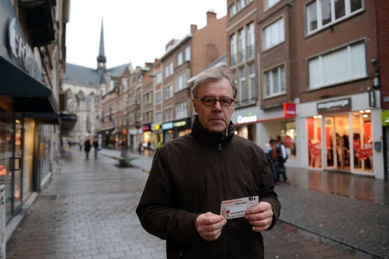 Marc Van de Velde, voorzitter van Liefst Leuven, heeft alle vertrouwen in de toekomst van de Leuvense handel en horeca.