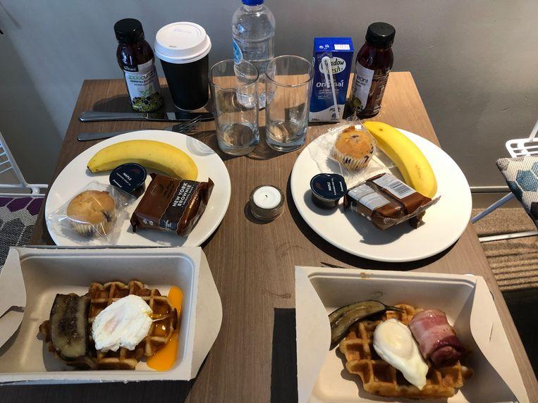 Een stevig ontbijt. Beeld Sabine De Vos