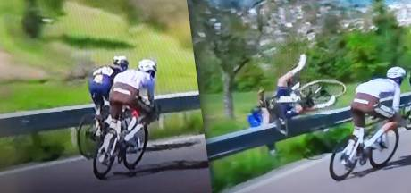Victime d'une chute, Evenepoel quitte le Giro