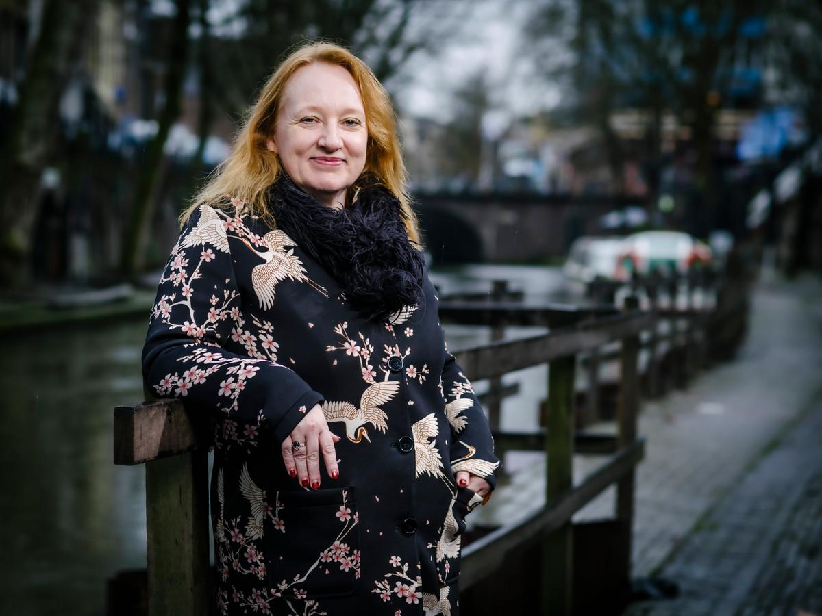 Eugenie Stolk, voorzitter van de landelijke Algemene Onderwijsbond (AOb).