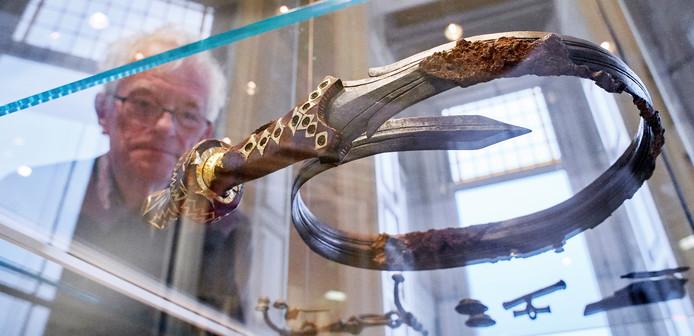 Het kromgebogen zwaard was begin dit jaar even terug in Oss.