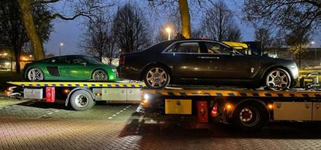 Peperdure Rolls Royce in beslag genomen door politie, eigenaar heeft schuld van 860.000 euro openstaan
