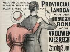 'De rubriek voor vrouwen' was in de krant ook een plaats voor de strijd voor vrouwenrechten