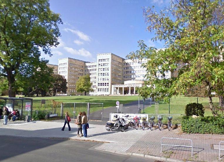 De universiteit van Frankfurt. Beeld Google Street View.