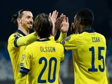 Zlatan weer belangrijk voor Zweden
