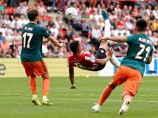 Kraker tussen PSV en Ajax in beeld