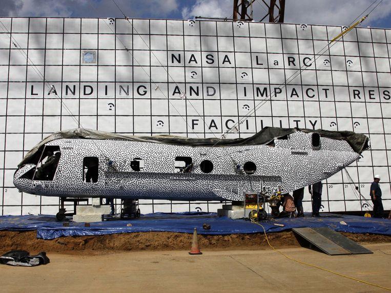 De helikopter. Beeld NASA