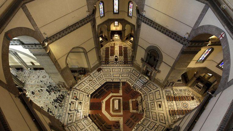 Archiefbeeld van het interieur van de beroemde kerk Santa Maria del Fiore, Florence. Beeld anp
