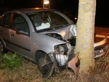 Gecrashte auto wordt dag later pas geborgen, trekt veel bekijks in Den Bosch