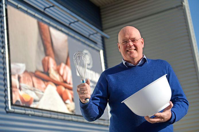 Directeur Gerrit Bouwhuis van Baktotaal Bouwhuis in Goor.
