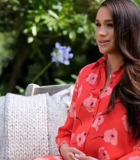 Meghan Markle dévoile son ventre arrondi à la télévision