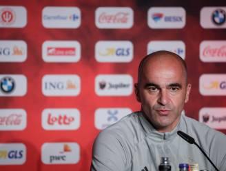 """LIVE. Bondscoach Martínez: """"Als we van ons spel genieten, dan zijn we op ons best"""""""