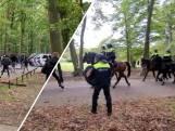 Politiebus gesloopt tijdens rellen bij Goffertstadion rond wedstrijd NEC-Vitesse