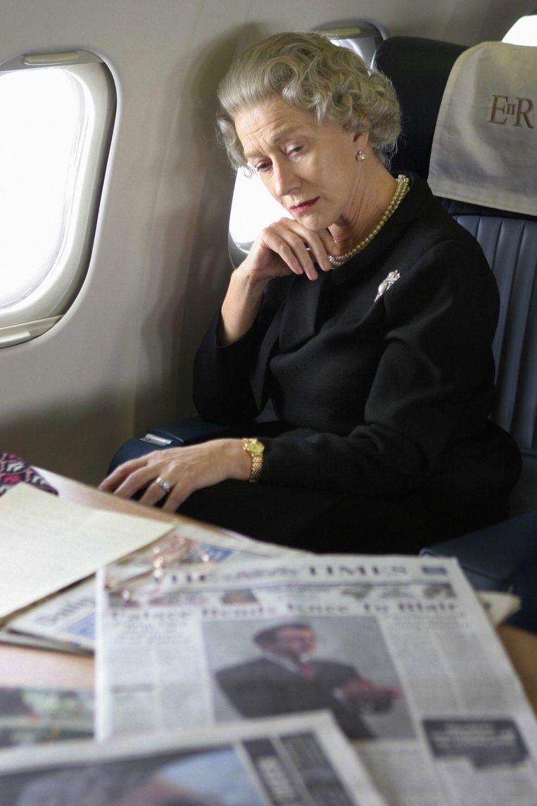 In The Queen als Elizabeth II, net na de dood van Diana. Beeld