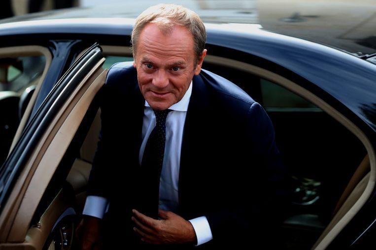 De kernelementen van het echtscheidingsakkoord met de Britten zijn onderhandeld. Dat zegt de voorzitter van de Europese Raad Donald Tusk.