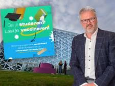 Zwolse onderwijsbaas roept jongeren op: 'Ga je studeren? Laat je vaccineren!'