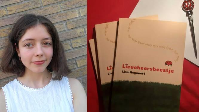 Lisa Heyvaert (17) uit Merchtem heeft met 'Lieveheersbeestje' eerst dichtbundel klaar