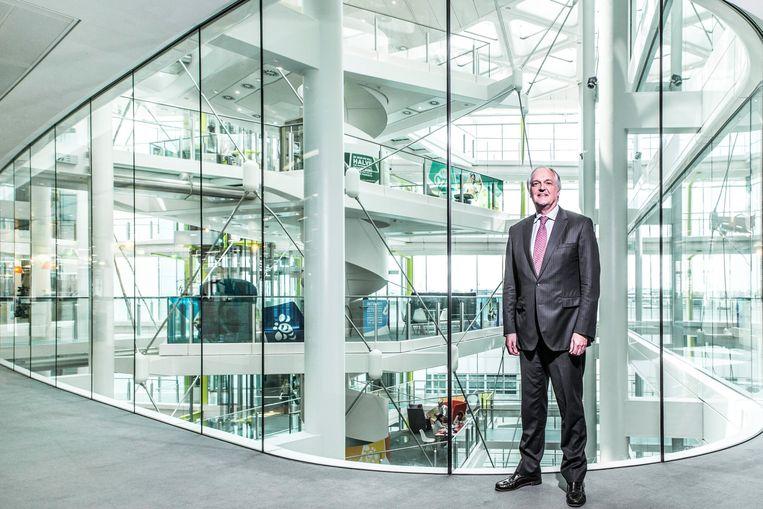 De positie van de Unilever-topman is ernstig verzwakt door het mislukken van de verhuizing van het concern naar Nederland. Beeld Chris Gloag/WirtschaftsWoche