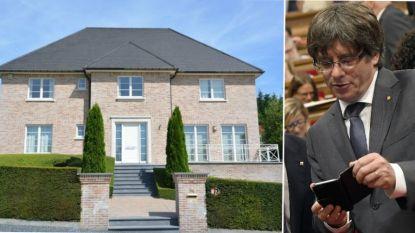 4.400 euro per maand: Puigdemont huurt deze riante villa en lijkt dus nog even in ons land te blijven