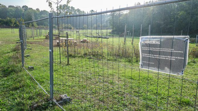 Het speelplein van de provincie in Kemmel blijft voorlopig gesloten.