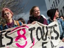 Mobilisation à l'ULB pour dénoncer le sexisme sur le campus