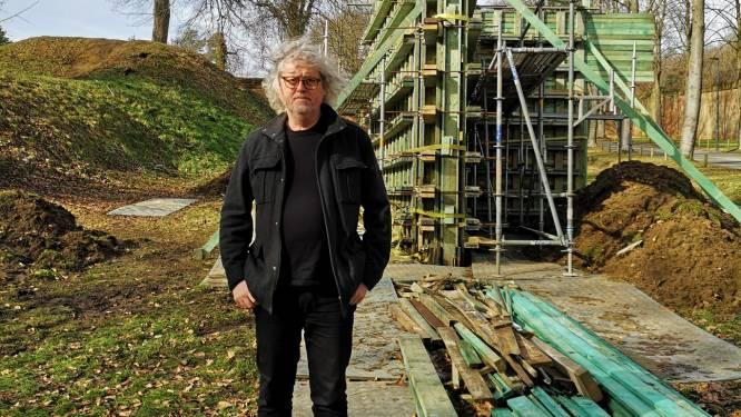 """West-Vlaamse kunstenaar kiest Citadel in Diest als decor voor project Blind Spot: """"Het lijkt alsof de muren er met elkaar praten"""""""