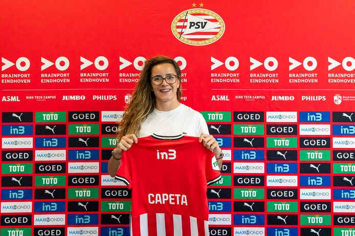 Ana Capeta tekent voor 2 seizoenen bij PSV.