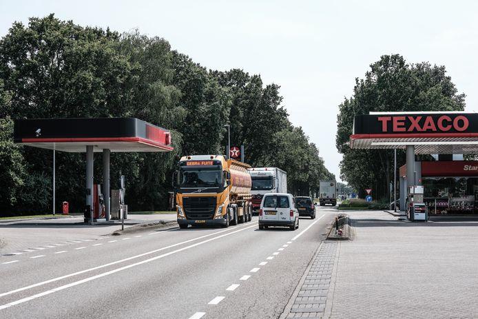 Texaco station N18  in Lichtenvoorde.