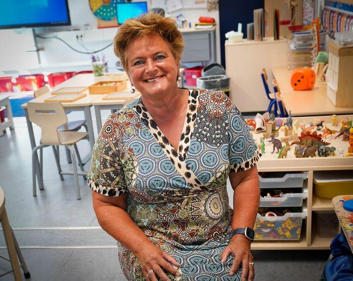 Juf Aliejan Zijlstra staat veertig jaar voor de klas op de Meeuwenberg in Driel. Ze is aan haar laatste schooljaar begonnen.