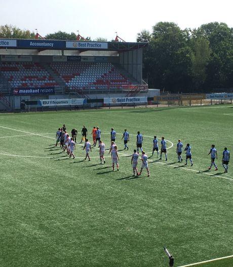 Oefenduel TOP Oss met FC Eindhoven eindigt voor iedereen met zware kater