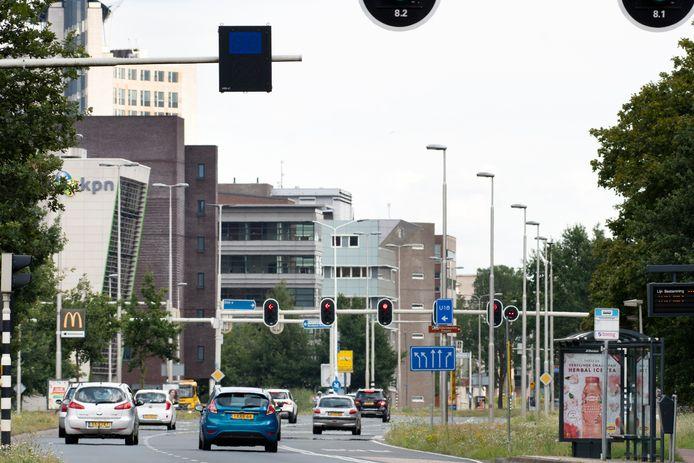 'Tijdens mijn leven heb ik te vaak over de Burgemeester Matsersingel heen moeten fietsen. Ik ben daar niet zonder kleerscheuren vanaf gekomen.' Foto ter illustratie.